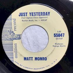 Matt Monro - Yesterday
