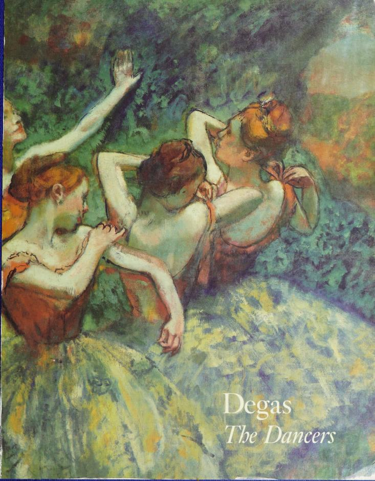 Degas, the dancers by George T. M. Shackelford