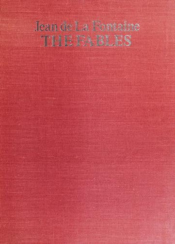 The fables by Jean de La Fontaine
