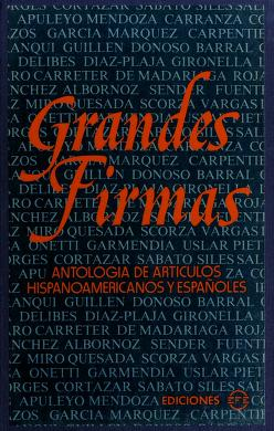 Cover of: Grandes firmas |