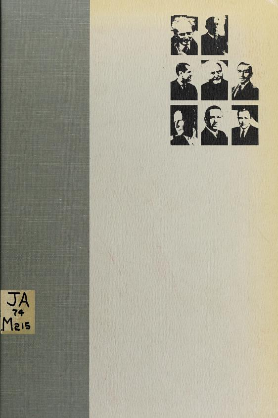 The intellectual in politics by Gunnar Heckscher ... [et al.] ; edited with an introd. by H. Malcolm MacDonald.