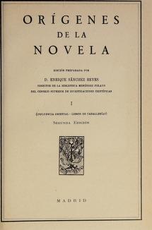 Cover of: Orígenes de la novela | Marcelino Menéndez y Pelayo