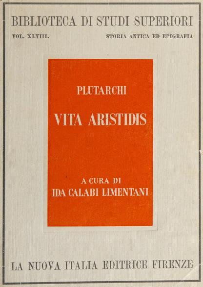 Vita Aristidis by Plutarch